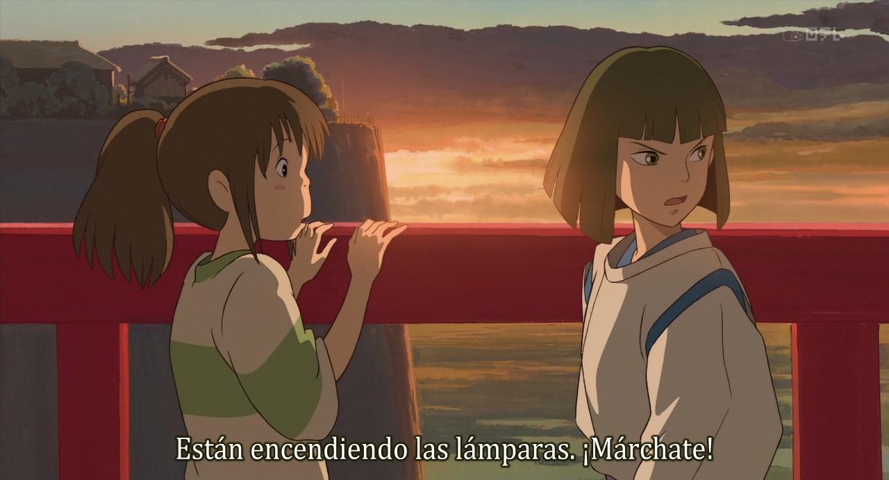 El viaje de Chihiro (2001) (HDTV 720p) [Hi10p]